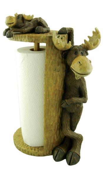 Moose Paper Towel Holder $44.99