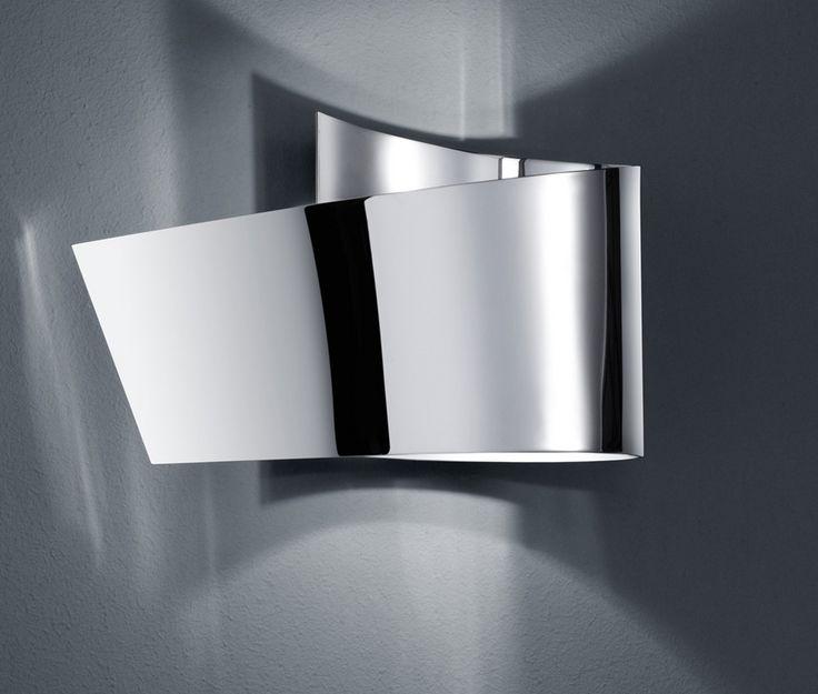 H2O Aalto seinävalaisin LED 2,3 W kromi IP44    Lampun tyyppi: 1 × SMD 2,3 W  LED (sis.toimitukseen)  Jännite: 230V  Valoteho: 230 lumenia  Valon sävy: 3000 kelviniä (lämmin valkoinen)  Kotelointiluokka: IP44 (roiskevesitiivis)  Rungon materiaali: Metalli  Rungon väri: kromi  Korkeus: 12 cm  Leveys: 20 cm  Syvyys: 9,5 cm  Takuu: 5 vuotta