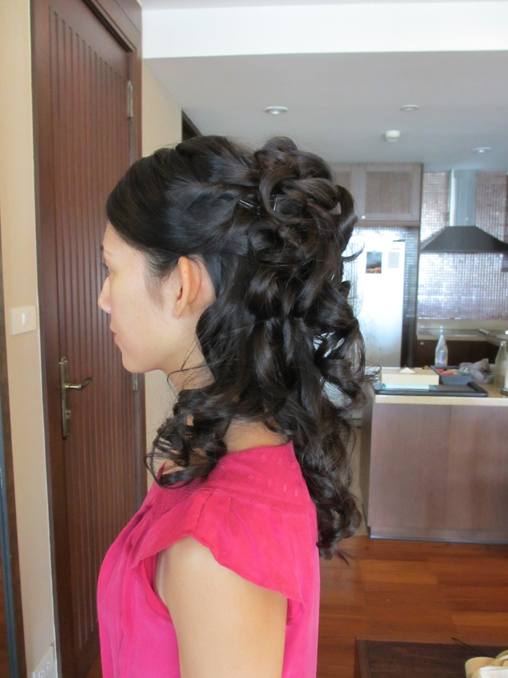 CHINESE AND ASIAN WEDDING HAIR AND MAKE UP