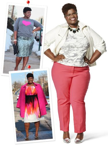 The Real Women Style Awards Winners Are Here! Georgette of Grown and Curvy Woman.