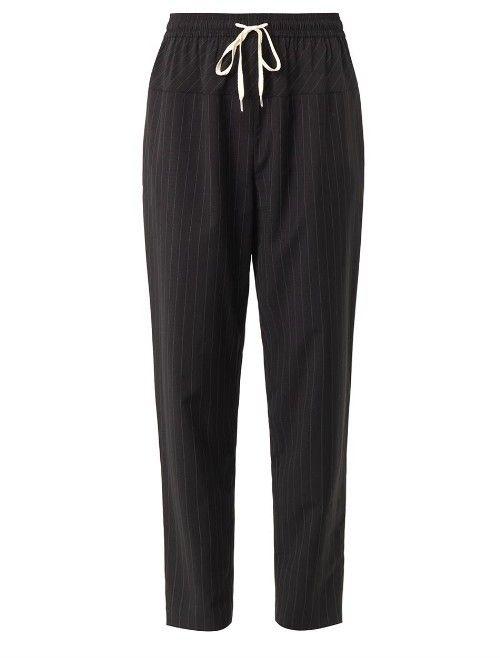 ALEXANDER WANG Pinstripe wool trousers