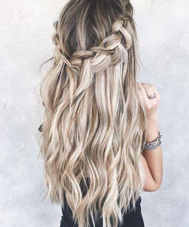 Wedding Hairstyles Half Up Half Down Hairstyle Bridal Updo Bridal Hair Braid Braide Long Hair Styles Wedding Hairstyles For Long Hair Long Hair Extensions