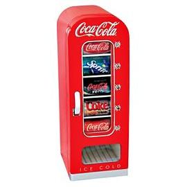 Coca-Cola Retro 10 Can Vending Fridge