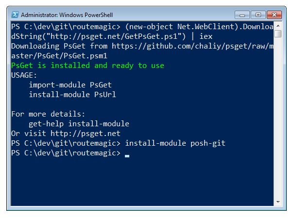 Better Git with PowerShell