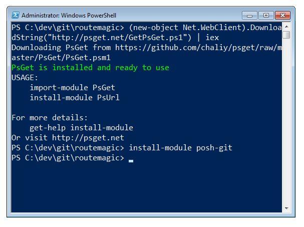 Better Git with PowerShell