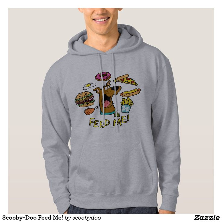 Scooby-Doo Feed Me! Hoody. Regalos Padres, fathers gifts, #DiaDelPadre #FathersDay