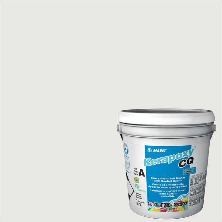 MAPEI Kerapoxy CQ 1-Gallon Avalanche Sanded Epoxy Grout
