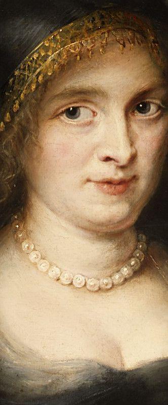 Peter Paul Rubens, Portrait of a Woman Probably Susanna Lunden, detail:
