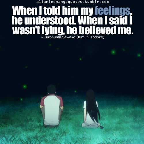 kazehaya and sawako relationship quotes