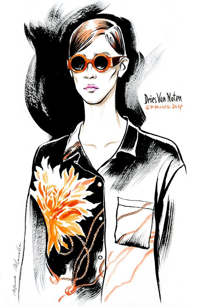 Irina Ivanova Fashion Illustration