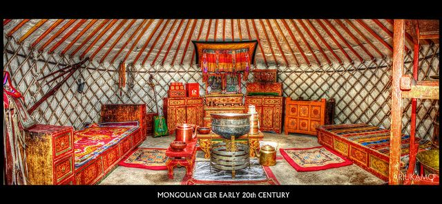 Mongolian Yurt Interior | Recent Photos The Commons Getty Collection Galleries World Map App ...
