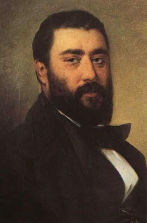 Ο ζωγράφος Διονύσιος Τσόκος. Αυτοπροσωπογραφία    (Αθήνα, Εθνική Πινακοθήκη - Συλλογή Κουτλίδη).     Κατά την παραμονή του στη Ζά...
