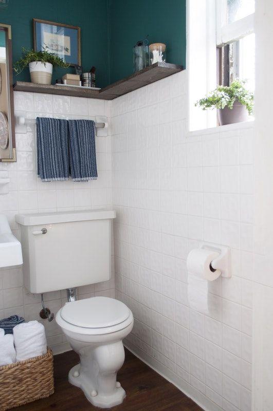 A 100% Reversible Rental Bathroom Makeover For Under $500