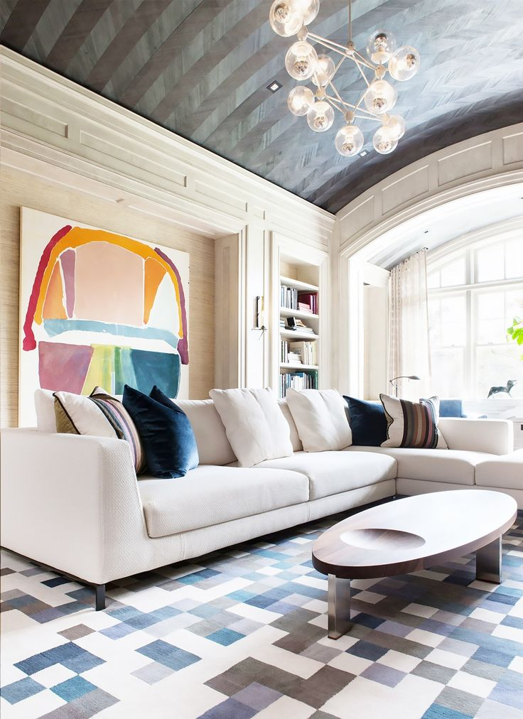Modern Family Living Room Design Part - 35: Inside A Modern Maryland Home With A Nod To The Past. Modern Family  RoomsModern Living Room DesignsEclectic ...