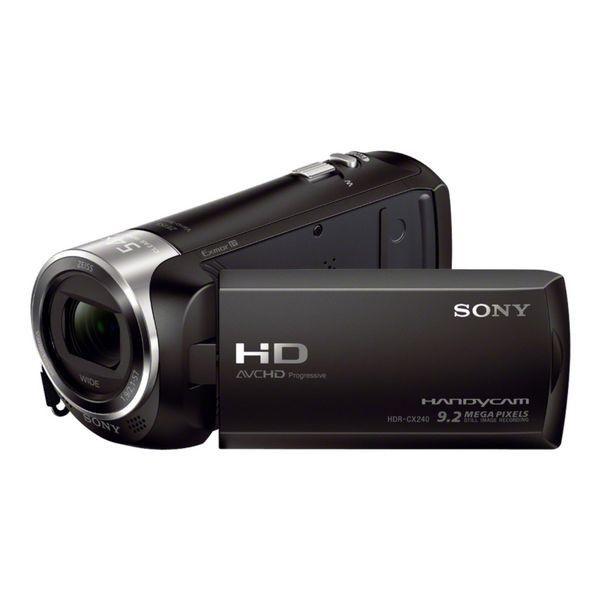 Videocamera Sony HDR-CX240E Handycam Full HD Black227,19 €