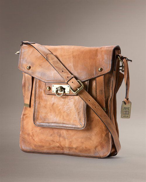 oh lordy lou .... i just discovered frye (as in that really expensive boot company that i love and can never afford, though i still find a way) also makes equally as expensive and equally as awesome handbags ... ... i'm screwed.