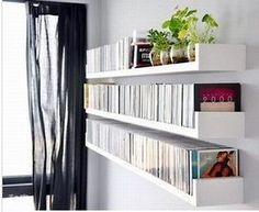 For The Office Or Randy S Man Cave Cd Dvd Storage U Floating Shelves