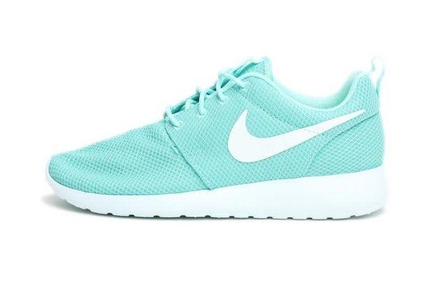 Nike Roshe Run Tropical Twist Damen Mint Weiß Schuhe Qualität