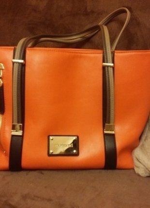 Kup mój przedmiot na #vintedpl http://www.vinted.pl/damskie-torby/torby-na-ramie/15667006-torebka-monnari-nowa-duza-pomaranczowa