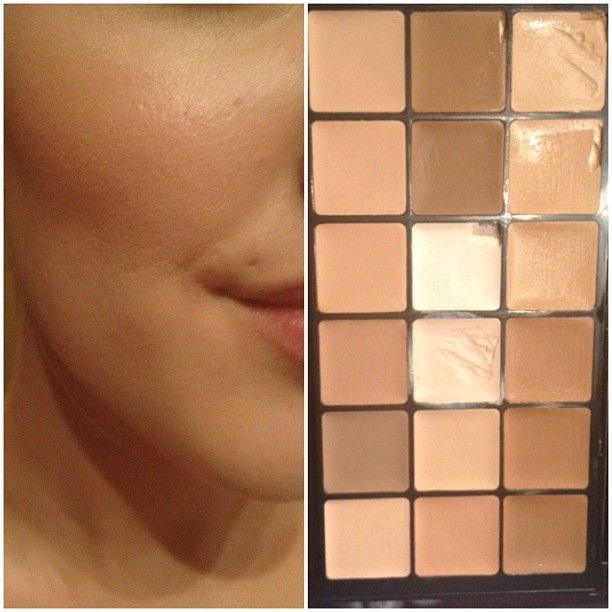 Every makeup artist should have this palette, its a great foundation! Save's so much space in the kit to have a palette like this. I use it on the picture! #rcma #rcmafoundation i bought mine from naimie's , now it retails for only $57 (!!) #naimies - @stephelf- #webstagram