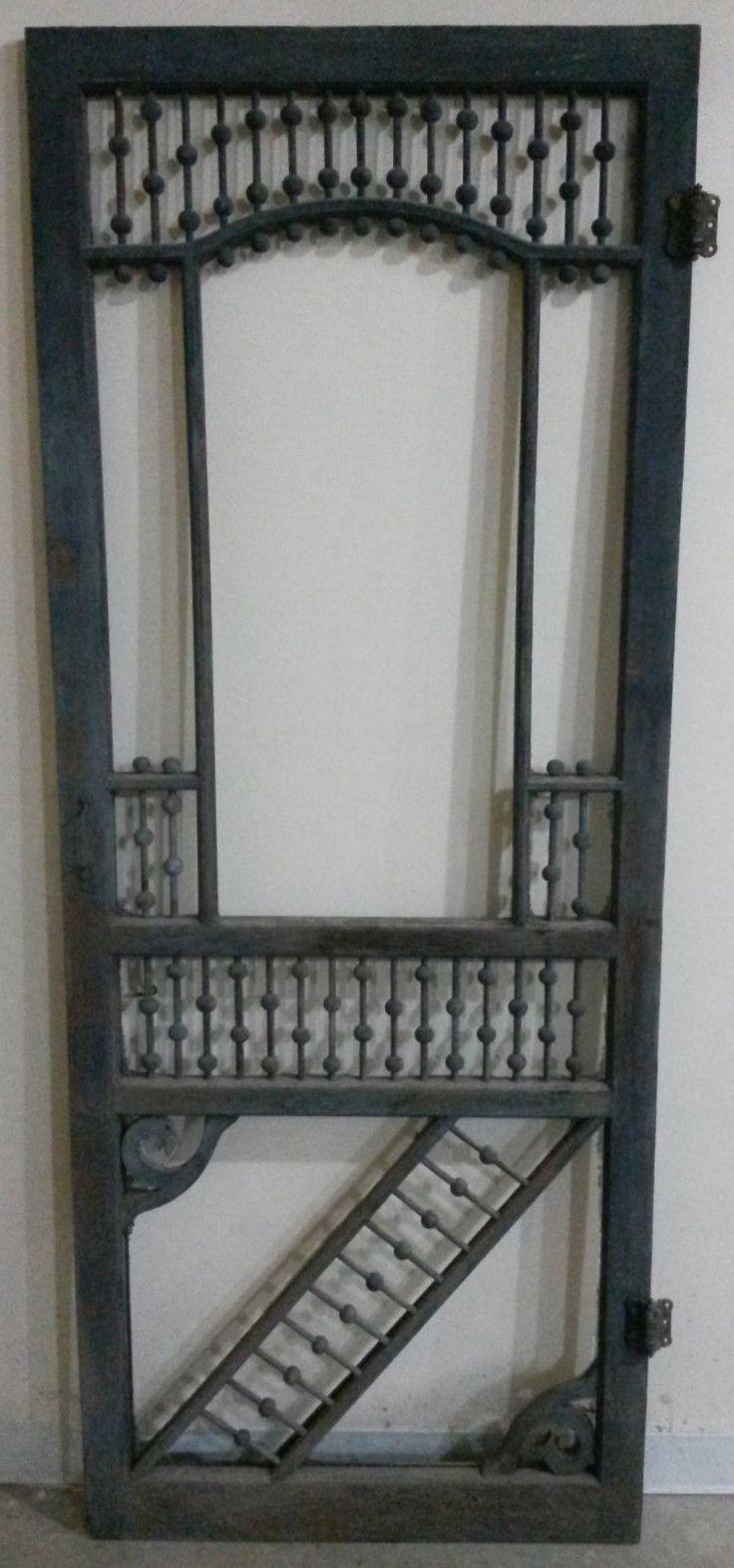 Victorian Screen Door, Original Condition | eBay