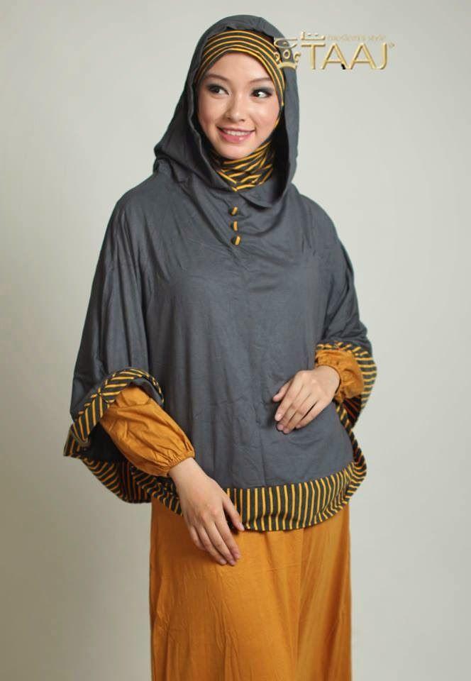 Jilbab Syar'i Modern Kerudung Taaj Hoodie