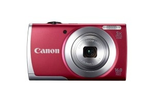 Canon PowerShot A2500 16.0 MP Digital Camera with 5x Optical Zoom and 720p HD Video Recording