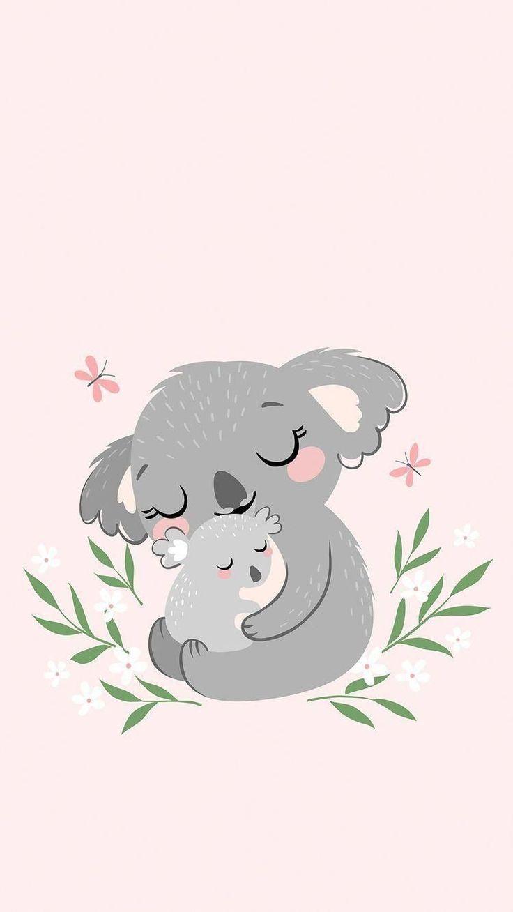 Cute Koala Love Koala Illustration Koala Drawing Cute Cartoon Wallpapers