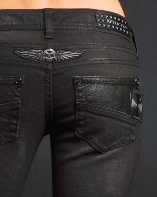 shoedazzle.com Raquel Seemed Journey Jeans by Affliction  Fashion