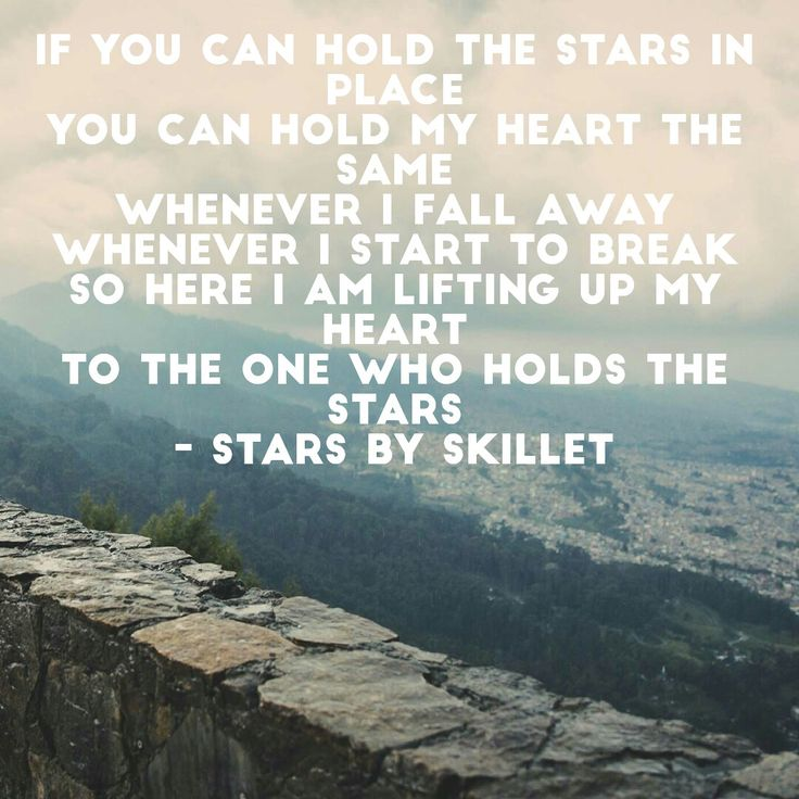 Lyrics to Stars by skillet... album stars coming out august 5th