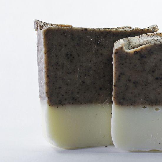 Almond & Coffee scrub soap