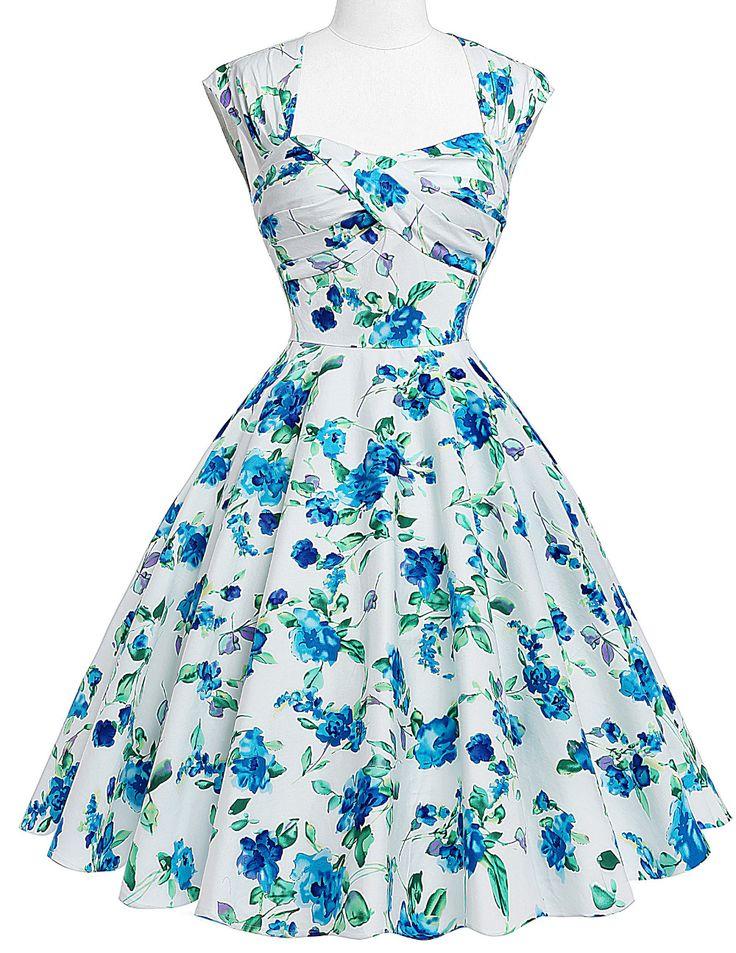 Bp sem mangas Retro Vintage 50 s 60 s vestidos mulheres rockabilly vestido de verão 2016 Audrey Hepburn algodão escavado voltar corpete