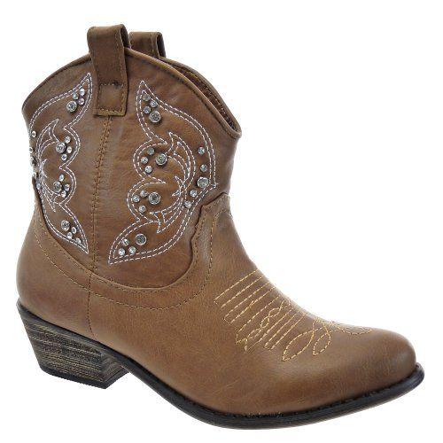 Kickly - Scarpe da Moda Scarponi Stivaletti - Stivali Santiags - Cowboy alla caviglia donna strass Tacco western 4.5 CM - soletta tessuto - Taupe T 37 - UK 4 in OFFERTA su www.kellieshop.com Scarpe, borse, accessori, intimo, gioielli e molto altro.. scopri migliaia di articoli firmati con prezzi da 15,00 a 299,00 euro! #kellieshop Seguici su Facebook > https://www.facebook.com/pages/Kellie-Shop/332713936876989
