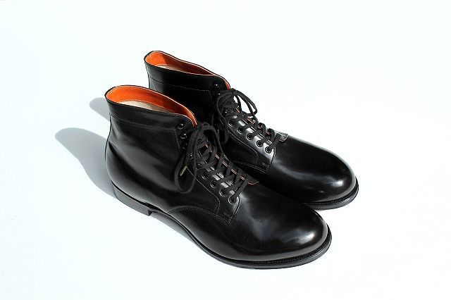 commono reproducts(コモノリプロダクツ) lace up boots -black- メンズファッション 靴 ブーツ