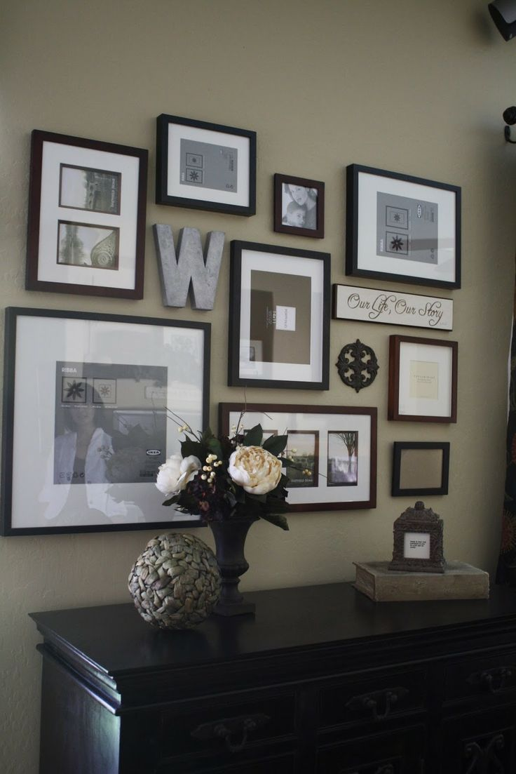 wall gallery ideas another picture wall