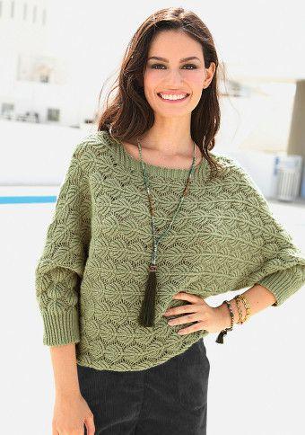 Ažurový pulovr #ModinoCZ #comfy