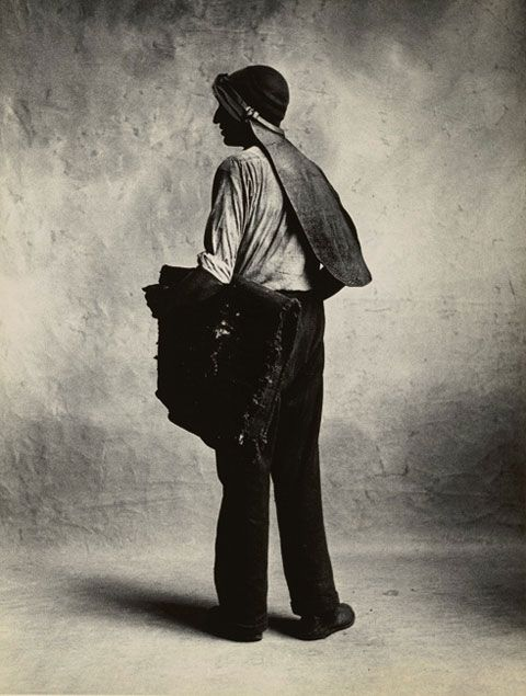 Irving Penn, Small Trades, Coal Man, London, 1950