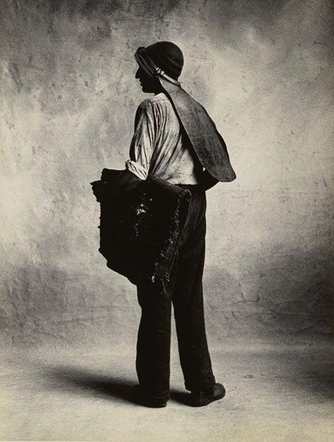 Irving Penn, Small Trades, Coal Man, London, 1950