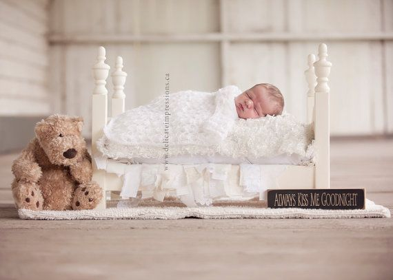 Sale Kayleigh Photography Prop Newborn bed, All American Doll Bed