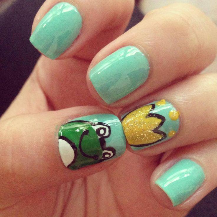Frog Nail Art: 408 Best Grenouille Images On Pinterest