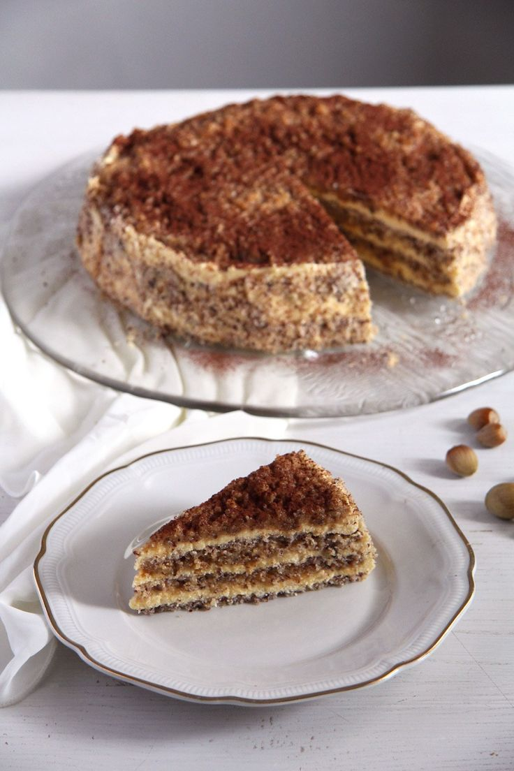 Egyptian Hazelnut Cake | Where Is My  Spoon