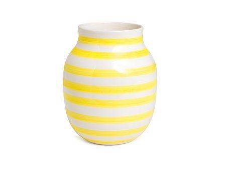 Kähler Omaggio gul medium vase