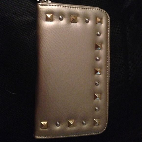 Grace Adele wallet Gold grace Adele wallet new with tags and box Grace Adele Bags