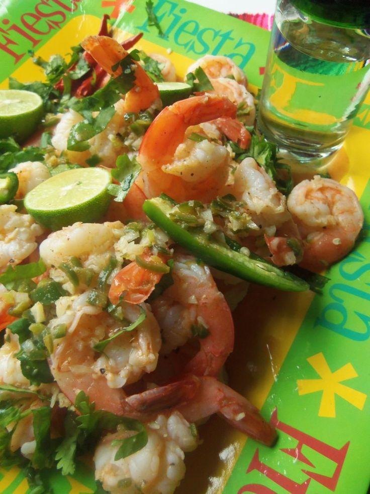 Tequila Lime Shrimp - Hispanic Kitchen