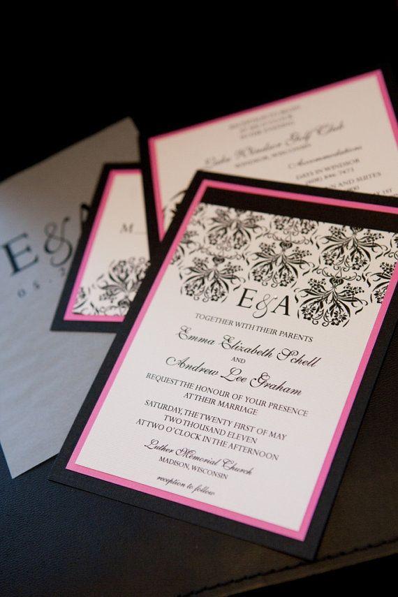 538 best Wedding invitations... images on Pinterest | Weddings ...