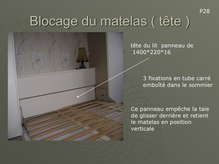 bricolage fabriquer un lit escamotable conseils des. Black Bedroom Furniture Sets. Home Design Ideas