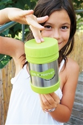 "Stainless Steel Thermos ~ ""Insulated, 12 oz, 304 food grade stainless steel, BPA, lead & phthalate free.  Keeps food toasty hot for hours!"" ~ Love It!!"