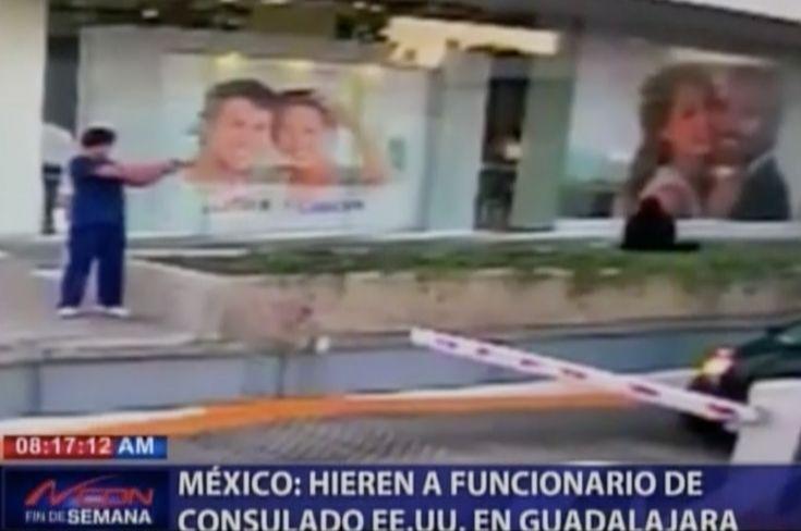 Mira Como Disparan A Funcionario De Embajada Norteamericana En México