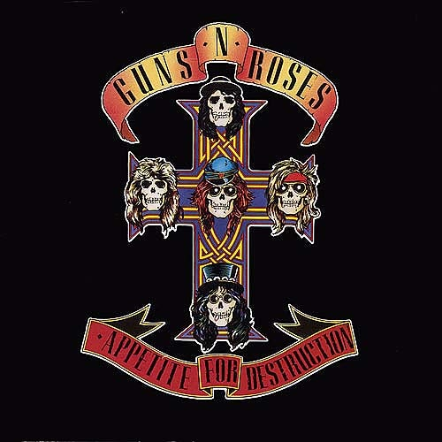 Appetite For Destruction - Guns N' Roses (1987)