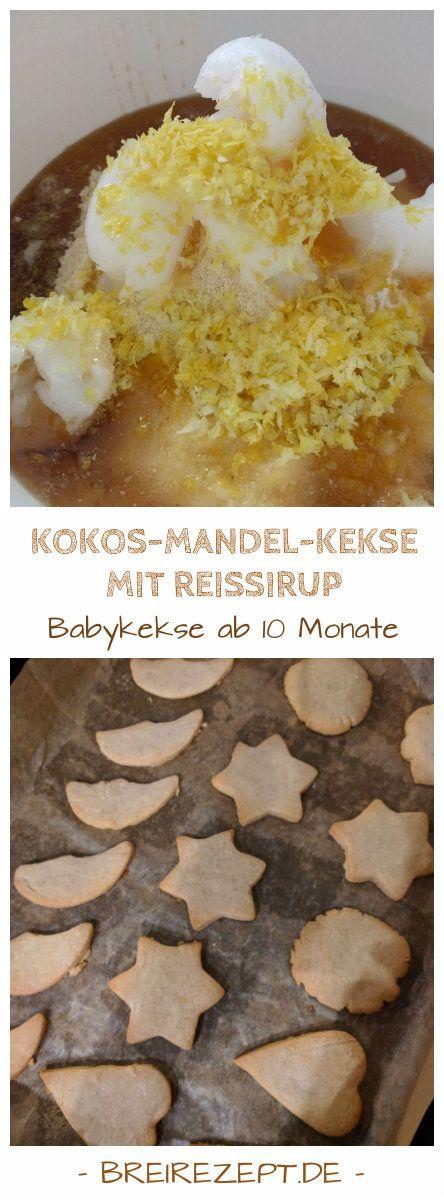 Kokos-Mandel-Kekse mit Reissirup sind tolle Ausstechkekse ohne weißen Zucker, die sich für das Baby nach dem 10.Monat sowie (Klein-) Kinder und alle Menschen mit einer Fructoseintoleranz eignen. Aber auch allen anderen schmeckt dieses Weihnachtsrezept: https://www.breirezept.de/rezept_kokos-mandel-plaetzchen-reissirup.html